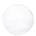 Lightweight Plastic Dinner Plates frosty Clear 9