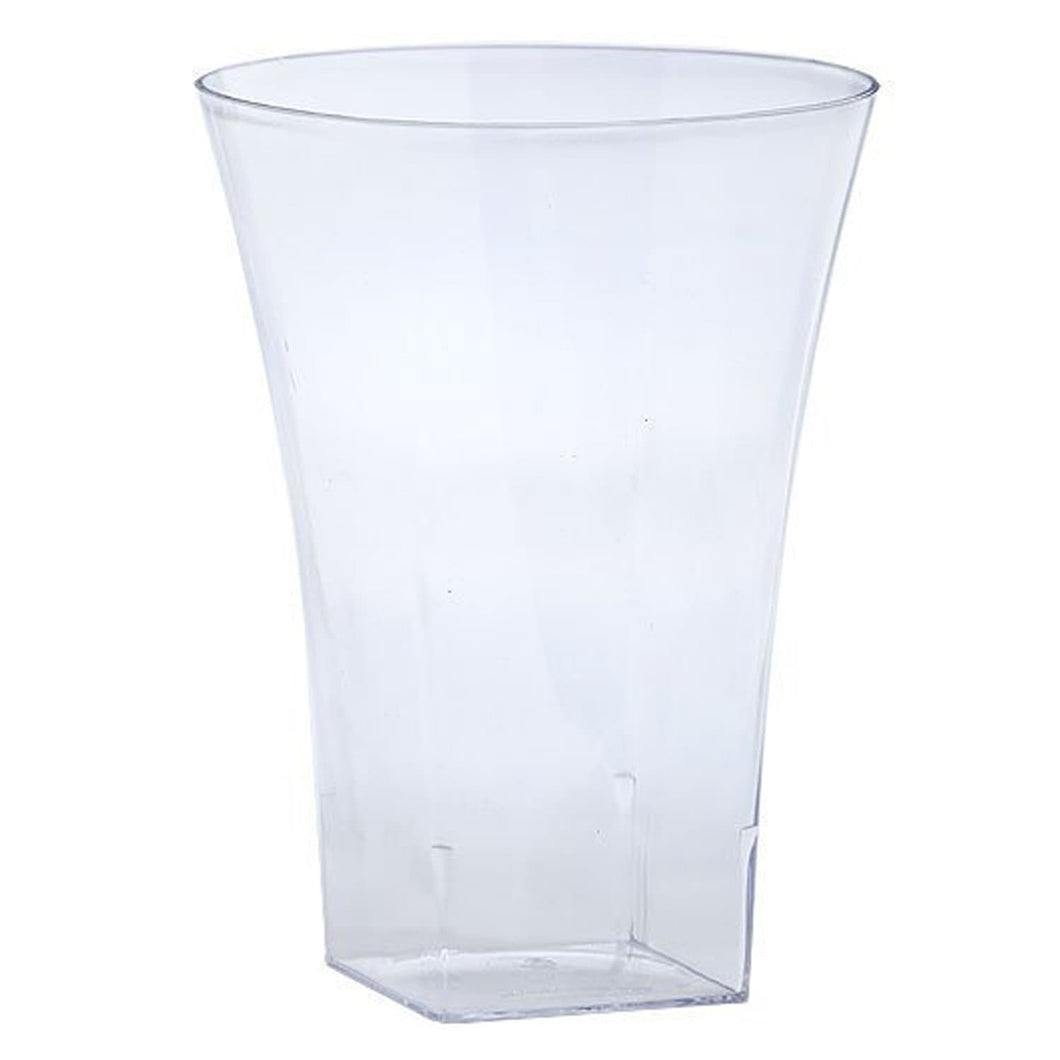 Lillian Tablesettings Plastic Flared Tumblers Clear HEAVY QUALITY 14 oz Lillian