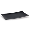 Lillian Tablesettings Serving Tray Black 9 by 13-Inch, Lillian