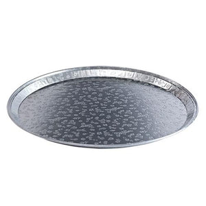 "Disposable Aluminum 12"" Flat Tray 5PK"