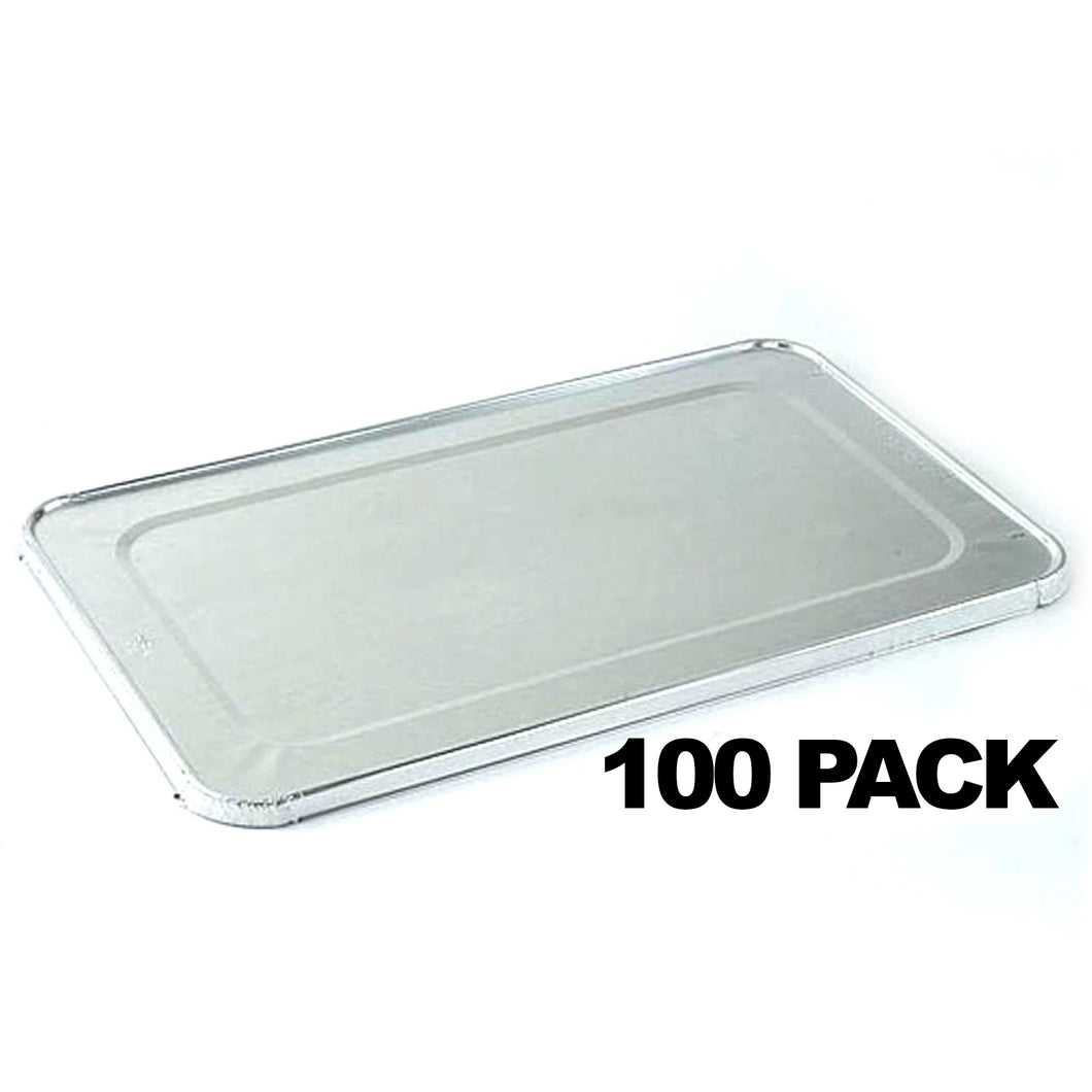 Full Sized Disposable Aluminum Lid for Deep Roster 20.75 X 12.75 X 1.2
