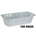 Disposable Aluminum 5Lb Loaf Foil Pan 1/3 Size Deep 12 17/32