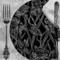 Black Dinner Setting Lunch Napkins 20ct - OnlyOneStopShop