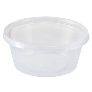 Nicole Home Collection Food Storage Containers With Lids Clear 10 oz 7Ct Nicole Collection