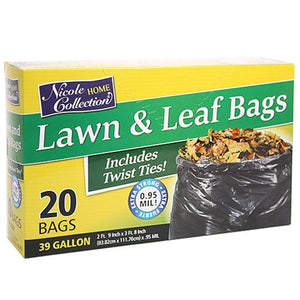 Nicole Home Collection Lawn and Leaf Bags 39 gal Nicole Collection