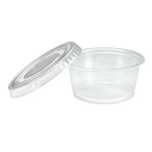 Nicole Home Collection Portion Cups with Lids Clear 2 oz 50Ct Nicole Collection