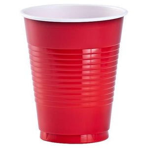 Red Co-Ex Plastic Cup 18 oz