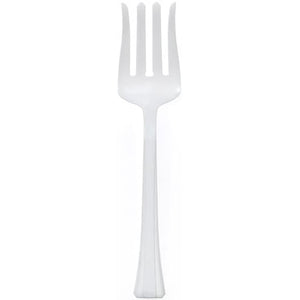 Pearl Plastic Salad Heavy Weight Serving Fork