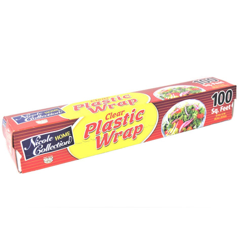 Nicole Home Collection Plastic Wrap Clear 250 Sq Feet