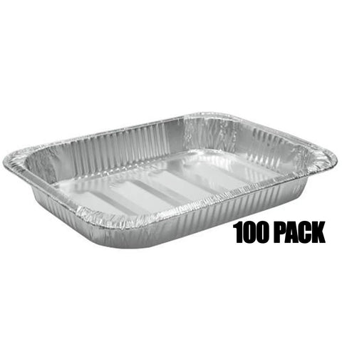 Aluminum Large rectangular Rack Roaster 17 X 12.5 X 3.19 100PK