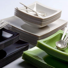 Rectangular Plastic Soup Bowls Sahara 12 oz Lillian Tablesettings