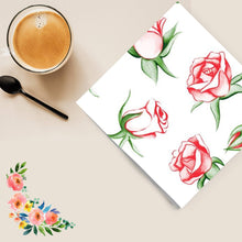 Rose Explosion Disposable Lunch Paper Napkins
