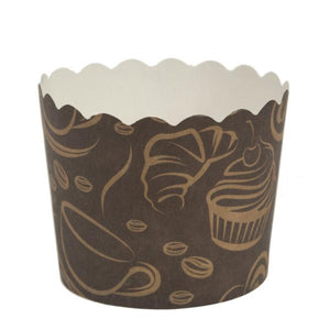 Simcha Collection Coffee Small Baking Cups 20Ct Blue Sky