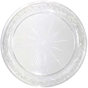 "Simcha Collection Plastic Plates 10"" Blue Sky"