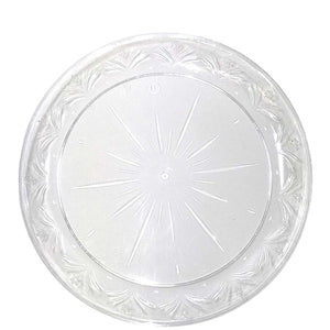 "Simcha Collection Plastic Plates 9"" Blue Sky"
