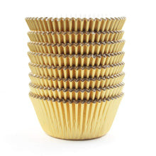 Simcha Gold Baking Cups Standard Size 72Ct Blue Sky