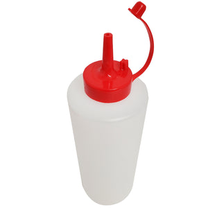 All Kitchen Condiment Squeeze Bottle with Cap Lid 22oz