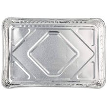 "Disposable Aluminum 1/2 Size baking tray/Cookie Sheets 16"" x 11"" x 1.25"" 100PK"