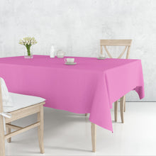 TableCloth Plastic Disposable Round Hot Pink 84''