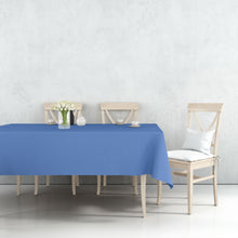 Tablecover Plastic Blue Rectangular  54'' X 108''