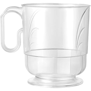 Mug 8 oz Elegance Clear Coffee