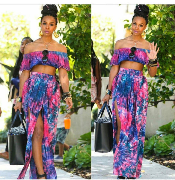 KELLY ROWLAND'S CUSTOM TWO PIECE SET