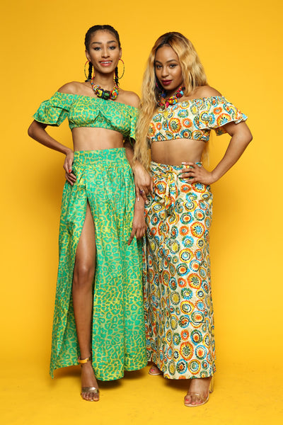 Custom Two Piece Maxi Set