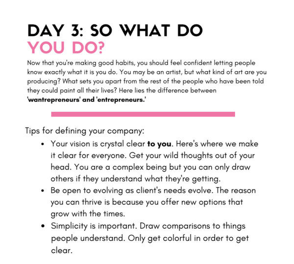 Creative + Conscious, a 10-Day Workbook!