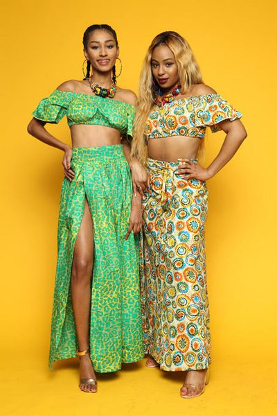 The Two Piece Maxi Set