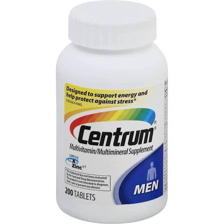 Centrum Men, 200 tablets