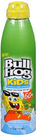 BullFrog Kids Continuous Spray Sunscreen SPF 50, 6 oz