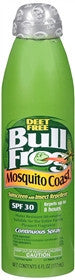 BullFrog Mosquito Coast Sunscreen with Insect Repellant, SPF 30, 6 oz