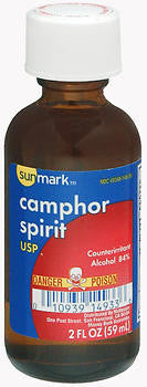 Sunmark Camphor Spirit USP, 2 ounces