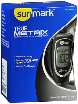 Sunmark True Metrix Self Monitoring Blood Glucose Meter
