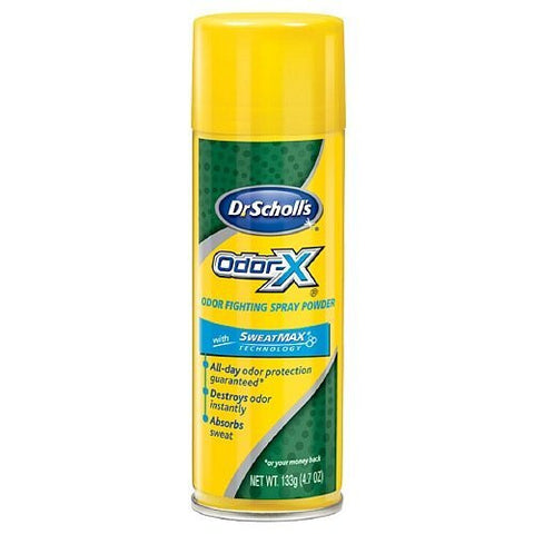 Dr. Scholls Odor-X, Odor Fighting Spray Powder