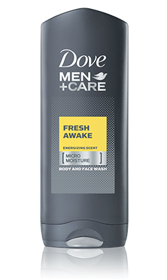 Dove Men+Care Fresh Awake Body and Face Wash, 13.5oz