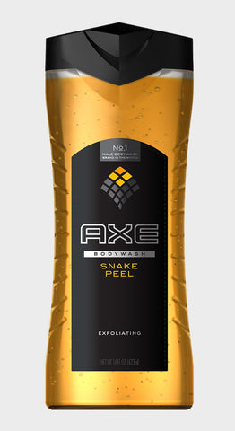 Axe Shower Gel, Snake Peel Scrub, 16oz