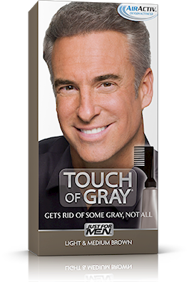 Just For Men Touch of Gray, Light & Medium Brown