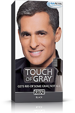 Just For Men Touch of Gray, Black