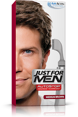 Just For Men Autostop, Medium Brown