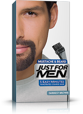Just For Men Moustache & Beard, Dark Brown