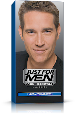 Just For Men Original Formula Haircolor, Light-Medium Brown