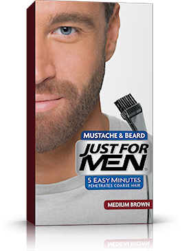 Just For Men Moustache Beard, Medium Brown