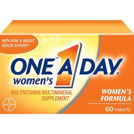 One A Day Women's Multivitamin, 60 tablets