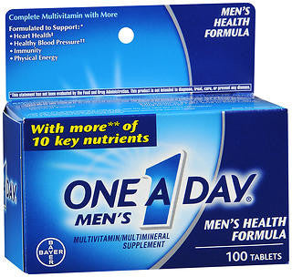 One A Day Men's Health Formula, 100 tab