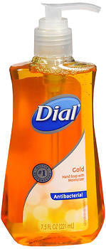 Dial Antibacterial Liquid Hand Soap, Gold, 7.5oz