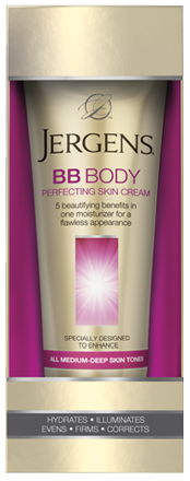 Jergens BB Body Perfecting Skin Cream, Medium Skin Tones, 7.5 oz