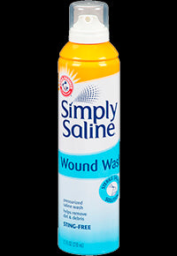 Simply Saline Wound Wash, 210ml