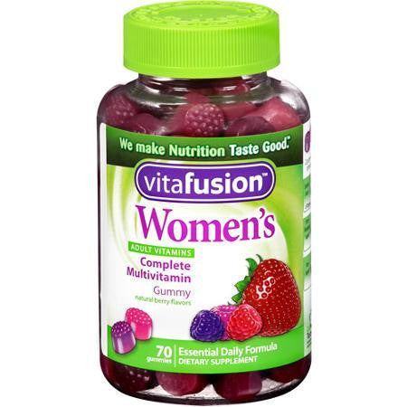 Vitafusion Women's Vitamins, Energy, Metabolism & Support, 70 gummies