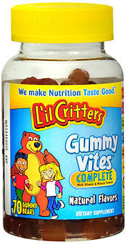 Lil Critters Gummy Vites Complete, 70 chewables